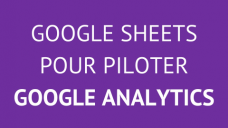 formation Google Analytics Sheets