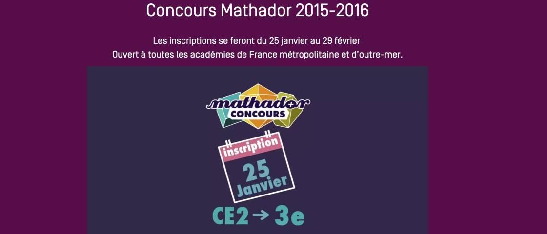 Souvent Mathador. Un jeu pour prendre les maths par les cornes – Les  DF26