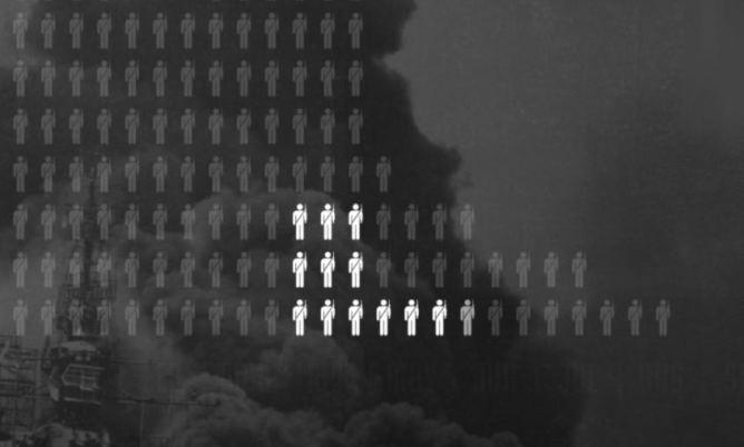Le stombés de la 2nd guerre mondiale