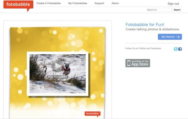 Fotobabble