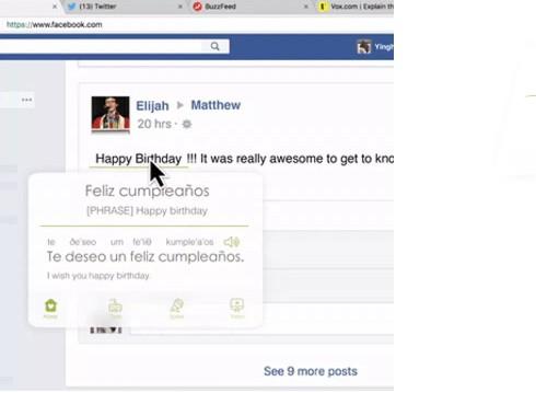 Facebook traduit