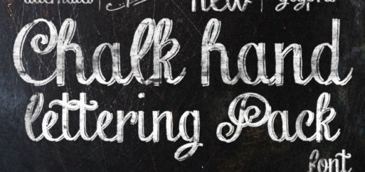 Chalk Hand Lettering