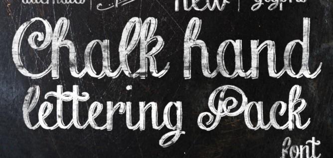 Chalk Hand Lettering