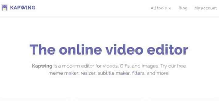 éditeur vidéo en ligne