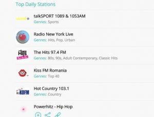 top radios