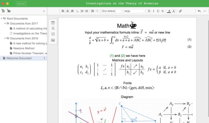 editeur de mathematiques