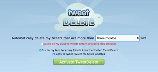 Tweetdelete