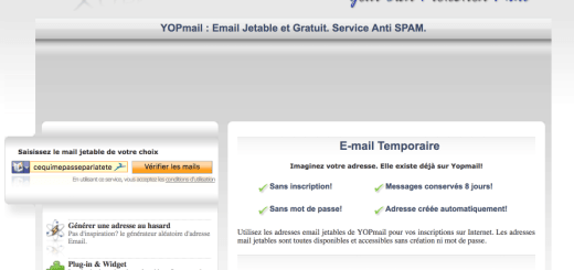 Yopmail mail jetable