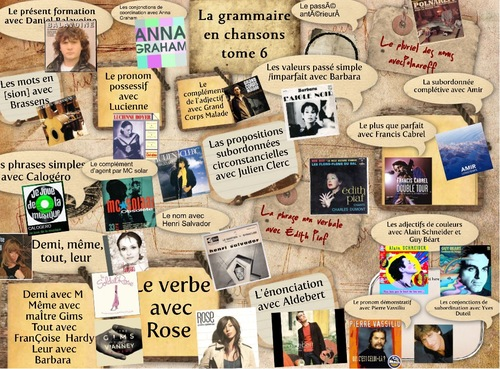 Grammaire en chansons