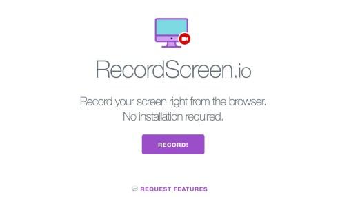 RecordScreen