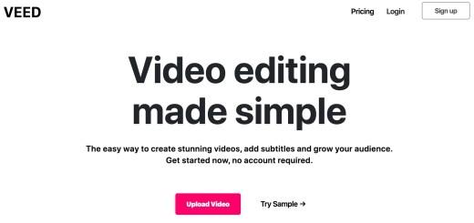 éditeur vidéo simple