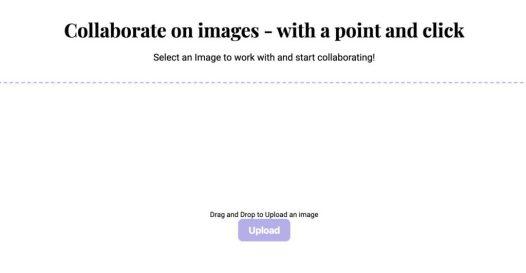 collaborer sur une image