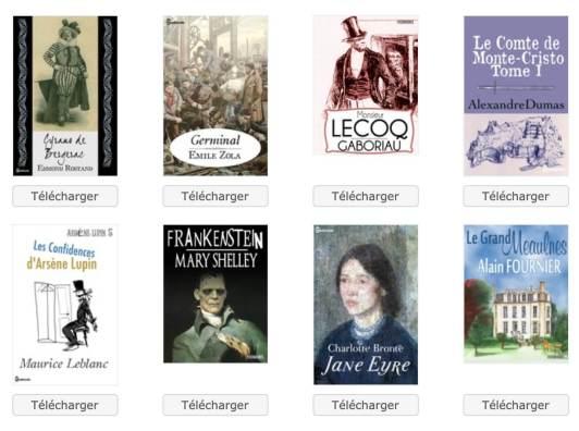 livres à télécharger