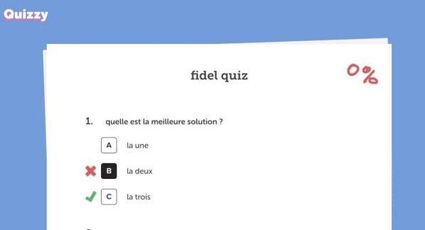 quiz en ligne