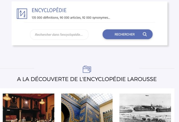 encyclopédie en ligne
