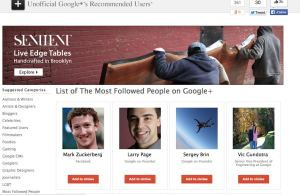 Recommended users google+