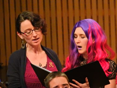 Tara and Julia Singing