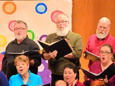 Tenors in Choir