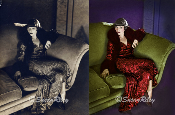 Louise Brooks as she appeared in the 1930 film Prix de Beauté