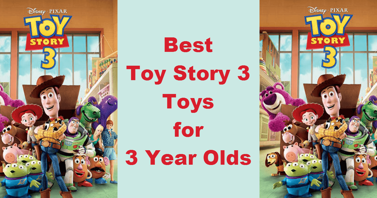 Fisher Price Toy Story 3 Toys My 3-Year Old LOVES
