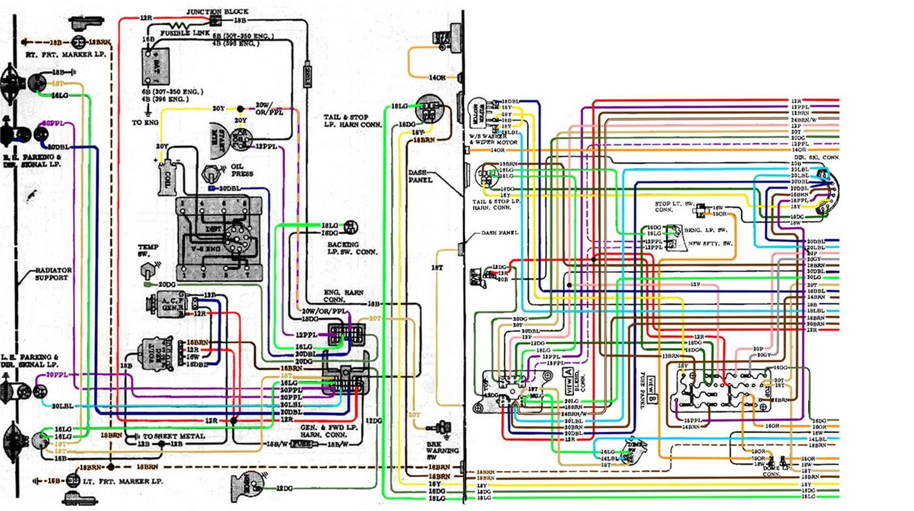 69 Chevelle Wiring Schematic - Free Download Wiring Diagram