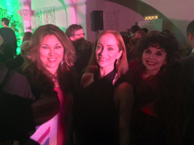 #OutlandDish partying with @lotteverbeek1 at #BritWeek2015  @ElyseAshton1