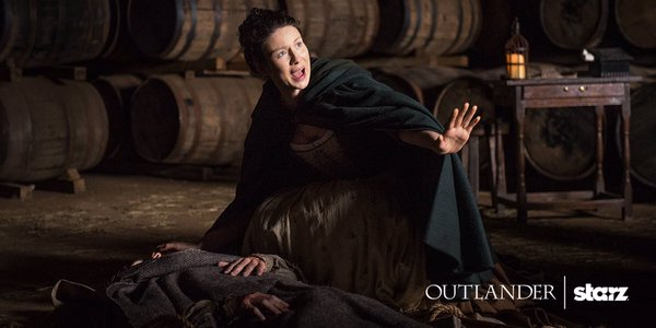 There's no time to waste when a life is at stake. #Outlander