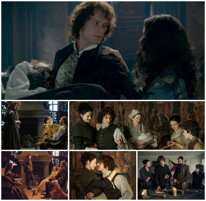 Outlander Family Collage