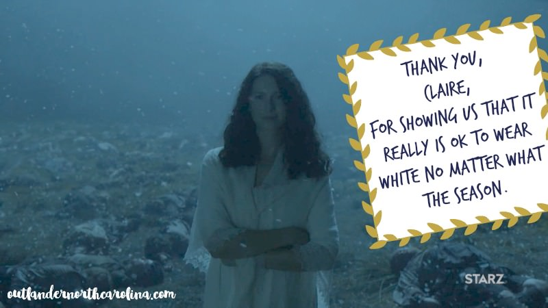 Outlander Season 3 Claire
