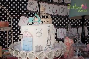 Paris High Tea Birthday Party