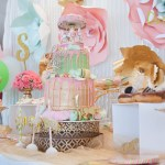 Vintage Carousel 1st Birthday Party