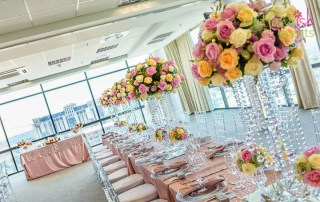 Rose Gold Wedding by Outlandish Events