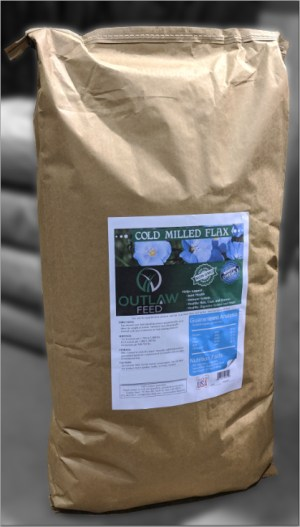 50lb bag cold milled flax