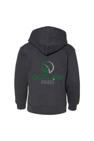 Outlaw Feed Youth Hoodie Back