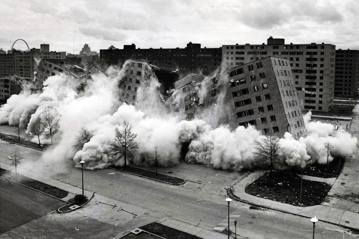 front doors archives the outlaw urbanist pruitt igoe is one of the most commonly cited examples of the failure of modernism in the world the televised demolition of pruitt igoe residential towers