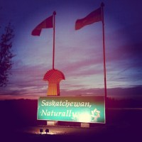 3rd province of the day! #Saskatchewan