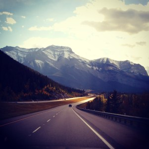 aaaaaand we're into the mountains! #rockymountains #Alberta