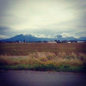 two of my favourite things: #mountains & #farms #Chilliwack #BritishColumbia