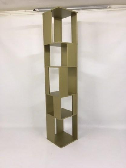 Libreria Cubic Fissa di Bonaldo color Oro di Bonaldo.