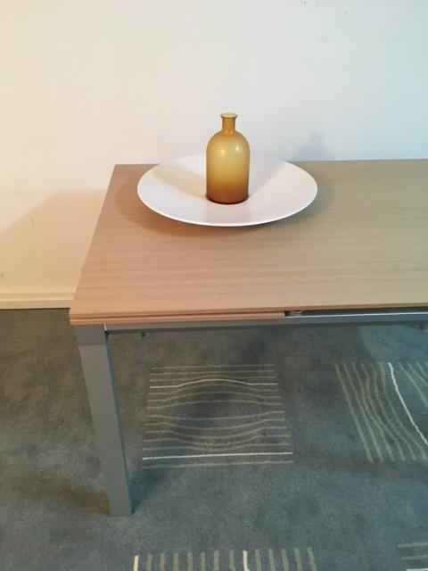 Tavolo In Legno Rovere Allungabile Chat 130 Bonaldo Outlet Di Qualita