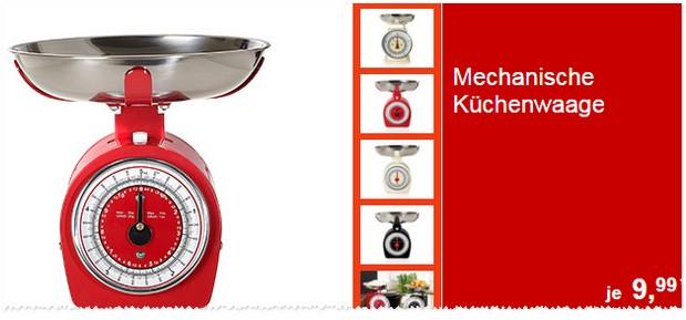 Retro-Küchenwaage im ALDI Süd Angebot ab 8.2.2016