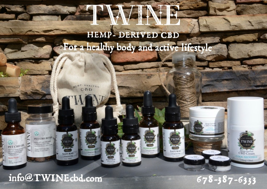 Twine: Hemp-Derived CBD For a healthy body and active lifestyle