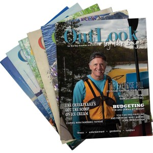 Six copies of OutLook by the Bay