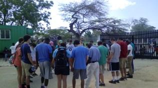 Priez à la frontière avec Haïti