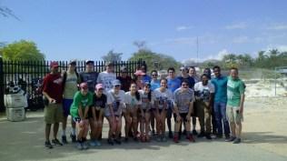 Les élèves de la mission Siloh