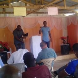 Training pastors in La Colonia.