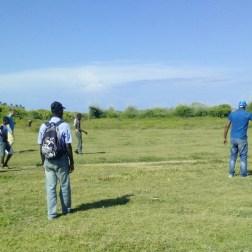 Football game in Los Cocos.