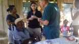 Medical clinics in the city of Pedernales.