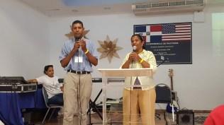 Pastor Robert Ciprian and sister Juana Montero
