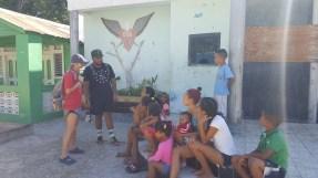 Evangelizing in Salina de Barahona